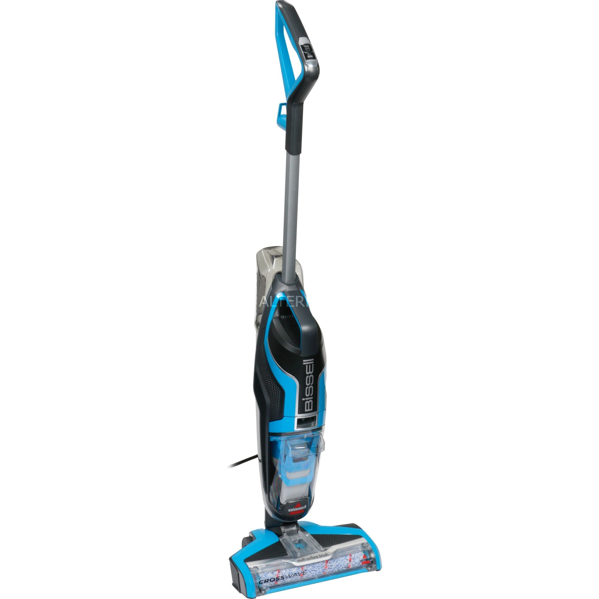 17132 Sin bolsa 0.62L 560W Azul, Titanio aspiradora de pie y escoba eléctrica, Aspiradora en húmedo y en seco