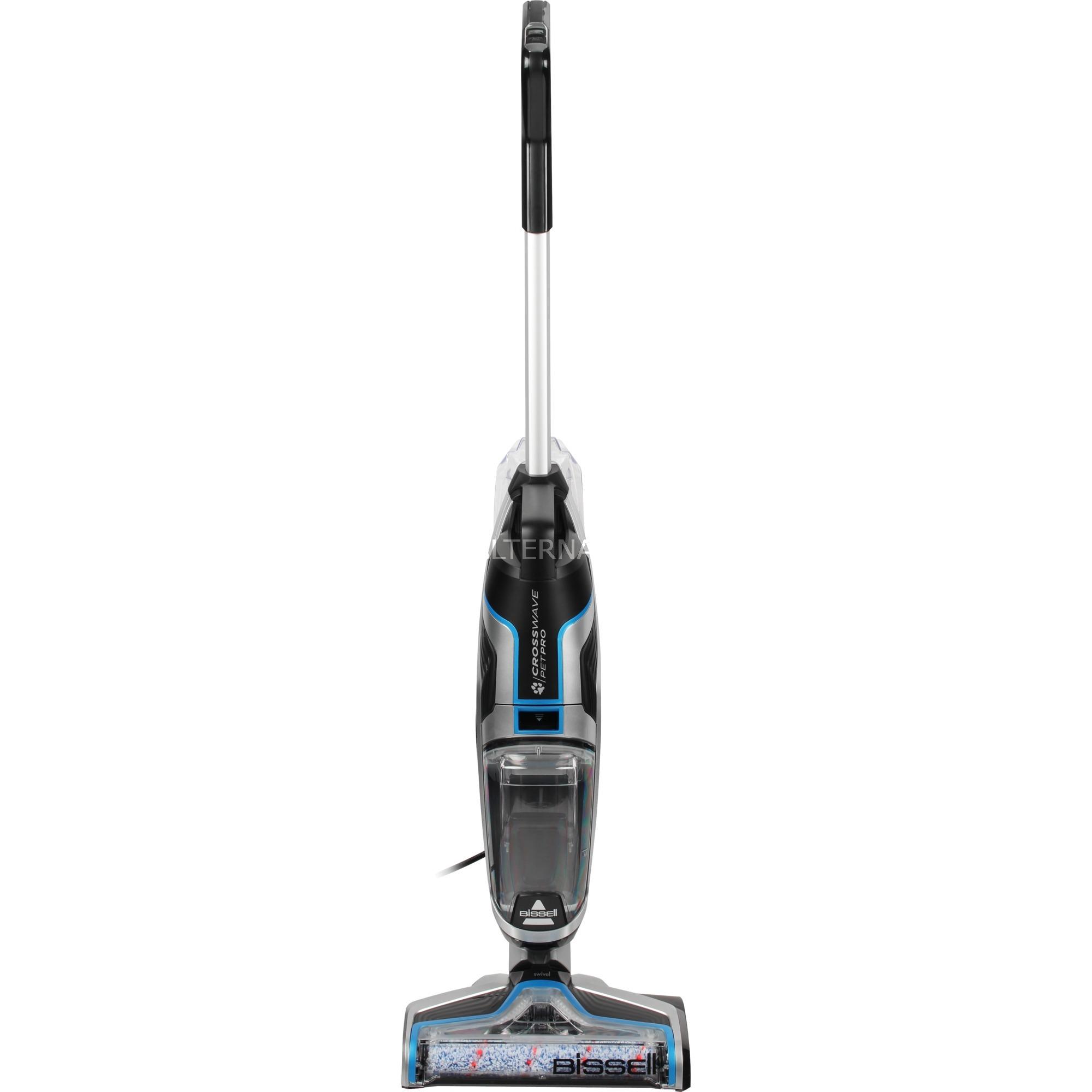 CrossWave Pet Pro Sin bolsa Negro, Azul, Plata 560 W, Aspiradora en húmedo y en seco