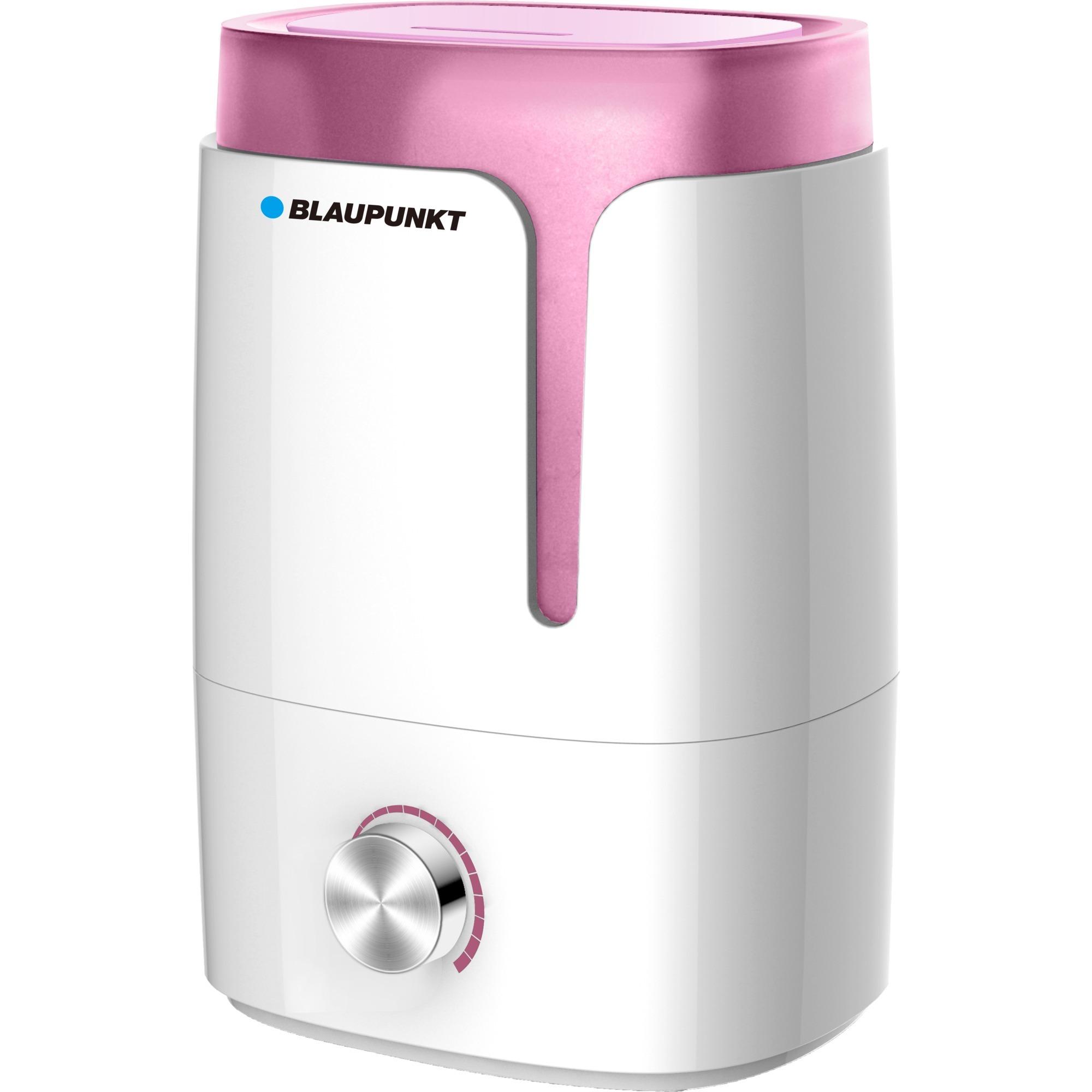 AHS301 humidificador Ultrasónica 3,5 L 25 W Rosa, Blanco