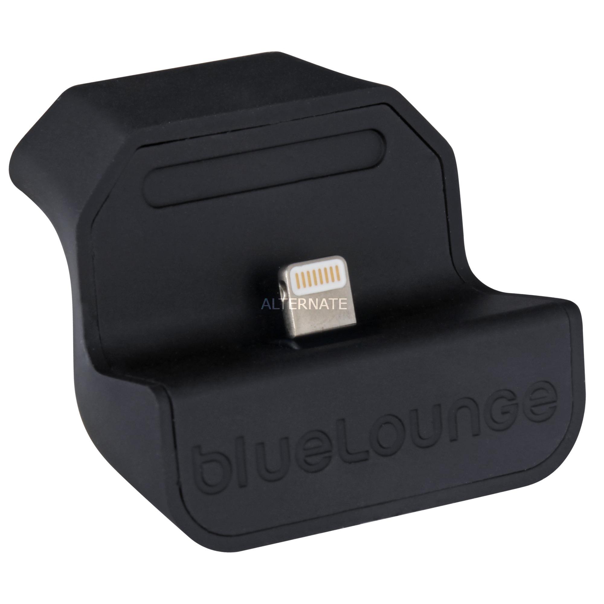 MD-EU-L Auto Negro cargador de dispositivo móvil, Estación de acoplamiento