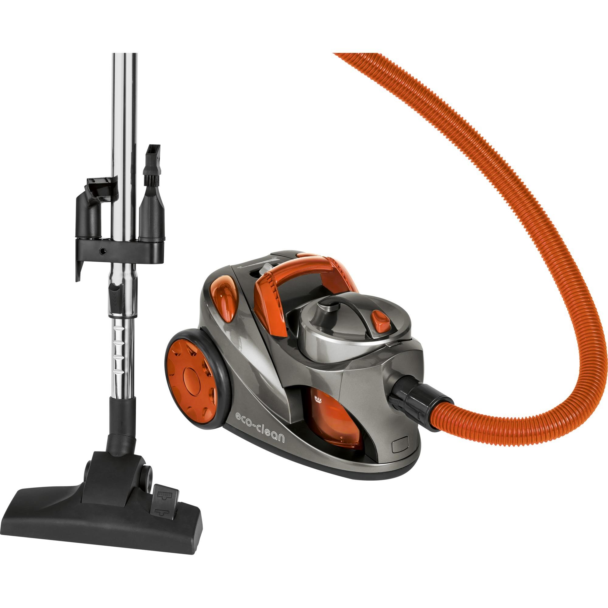 BS 9018 CB 700 W A Aspiradora cilíndrica 1,25 L Gris, Naranja, Aspiradora de suelo