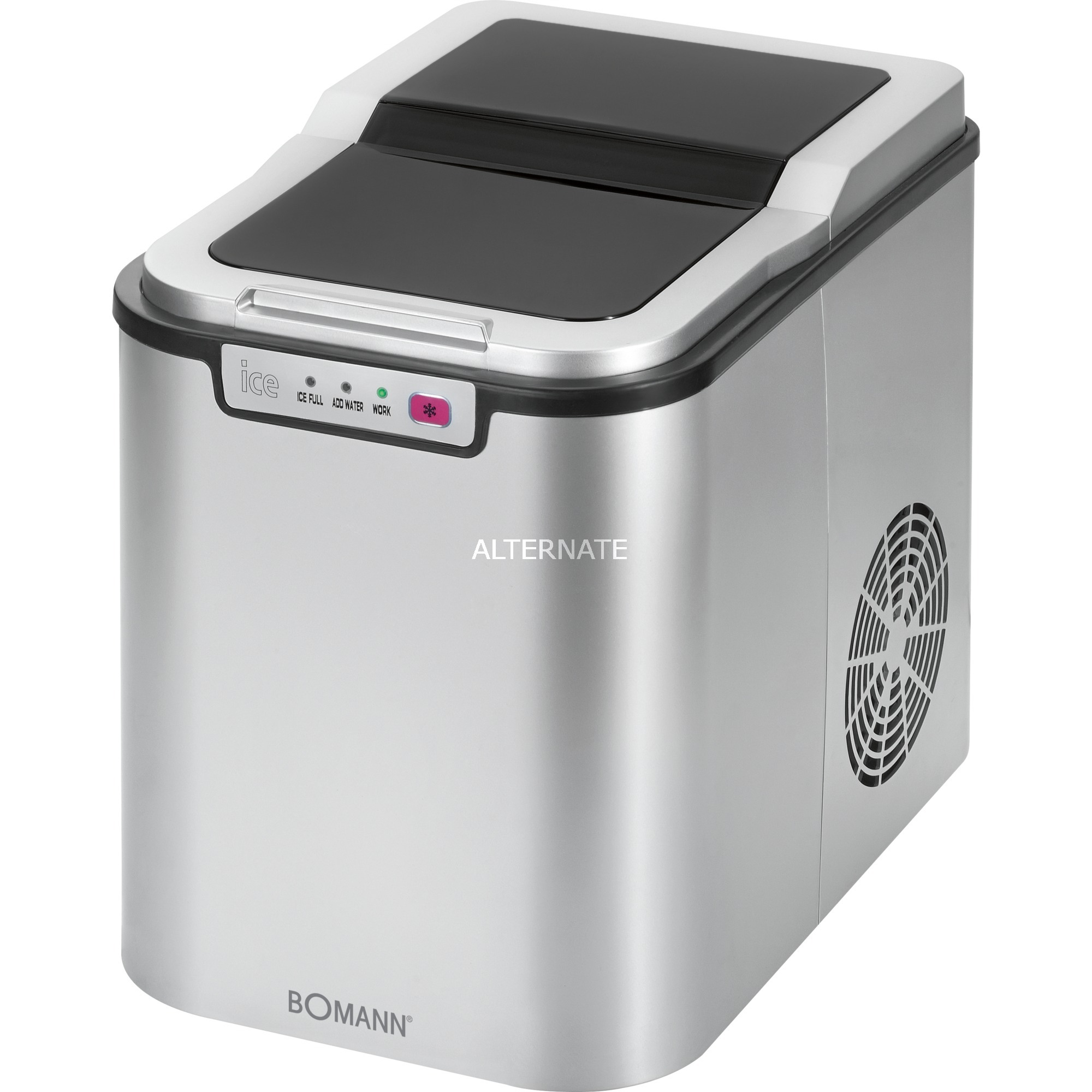 EWB 1027 CB 15kg/24h 150W Plata, Preparador de cubitos de hielo