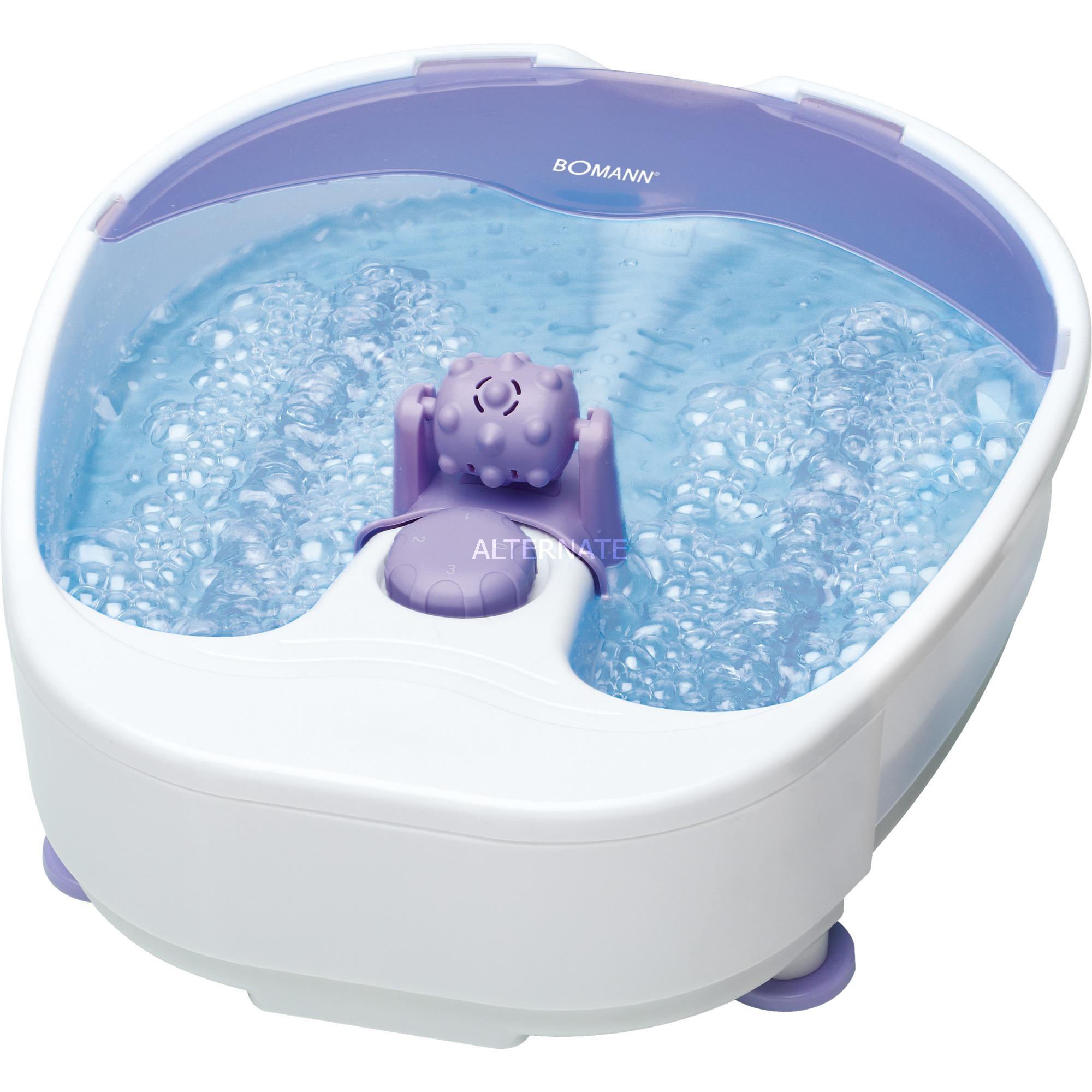 FM 8000 CB bañera de pies Violeta, Blanco 90 W, Baño para pies