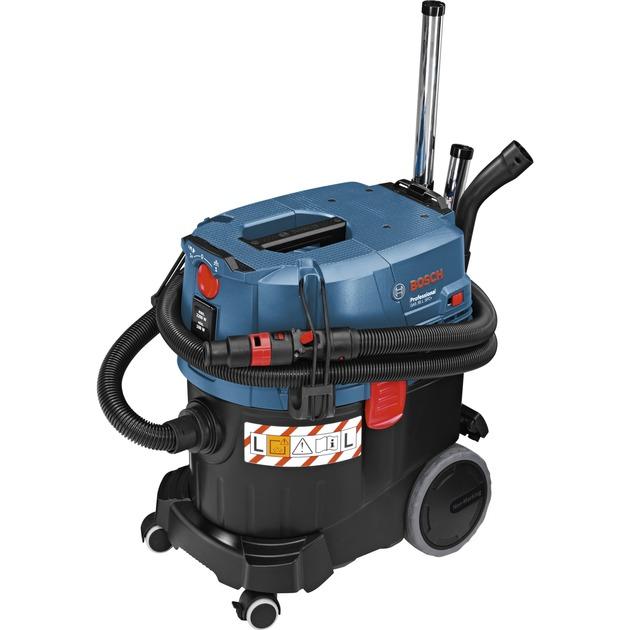 0 601 9C3 000 extractor de polvo Negro, Azul, Aspiradora en húmedo y en seco