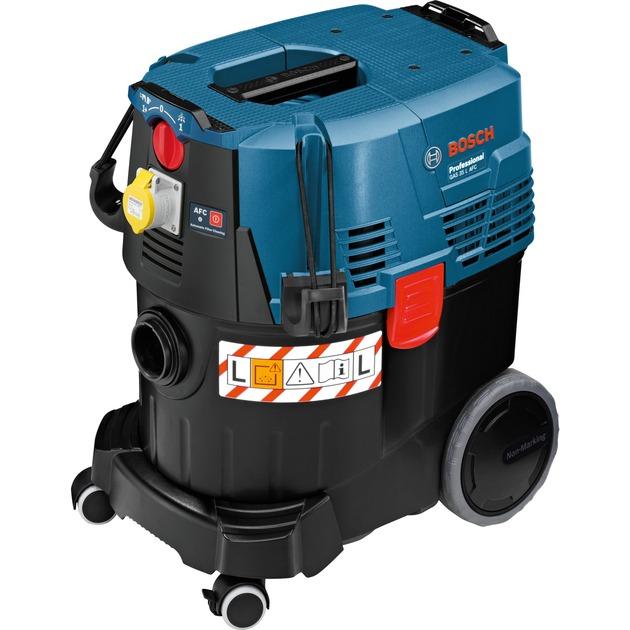 0 601 9C3 200 aspiradora 1380 W Aspiradora de tambor Sin bolsa 35 L Secar, Aspiradora en húmedo y en seco