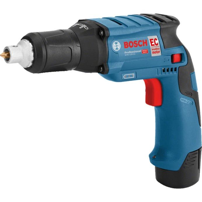0 601 9E4 002 destornillador eléctrico y llave de impacto Negro, Azul, Rojo, Plata