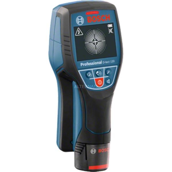 120 D-Tect multidetector digital Metal ferroso, Cable con corriente, Metal no ferroso, Madera, Localizador