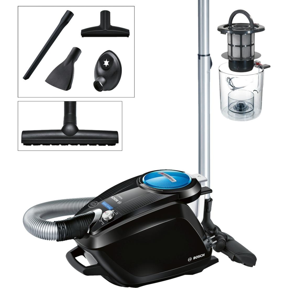BGS5SMRT66 Aspiradora cilíndrica A Negro aspiradora, Aspiradora de suelo