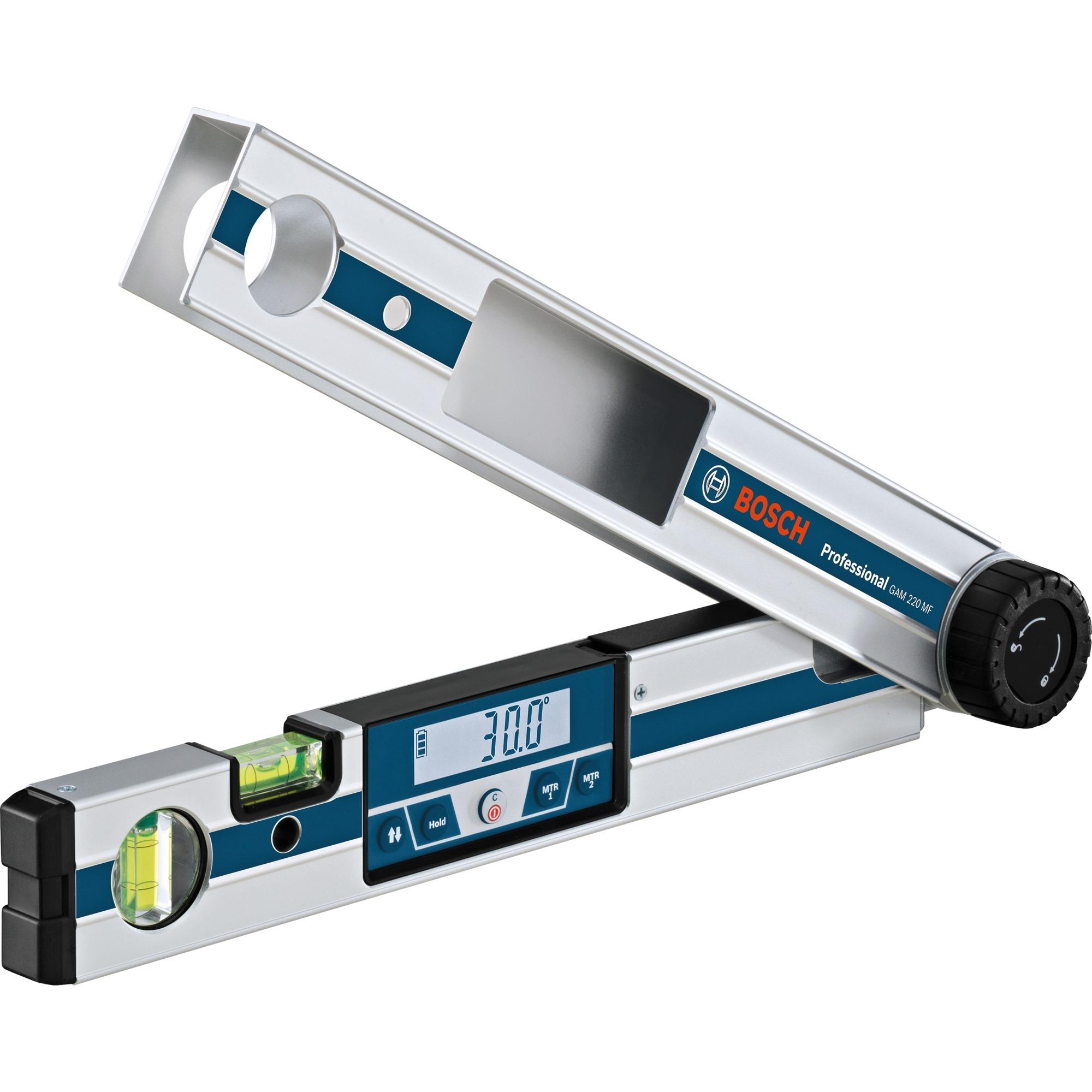 GAM 220 MF Professional medidor de ángulos digital 0 - 220°, Transportador