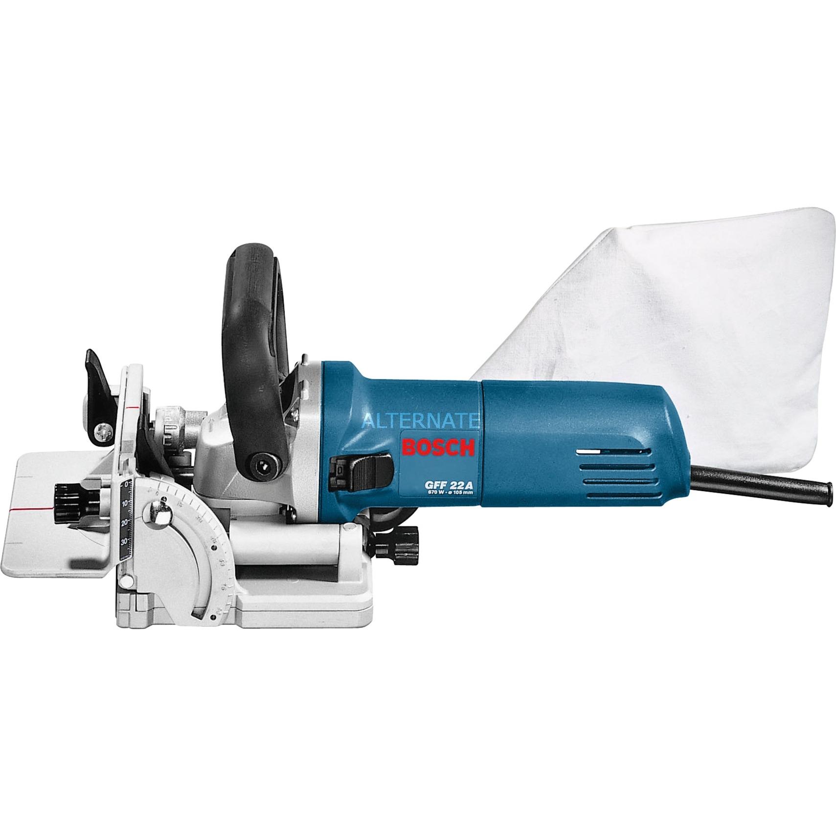 GFF 22 A 9000 RPM Azul 670 W, Esamblaje con galleta