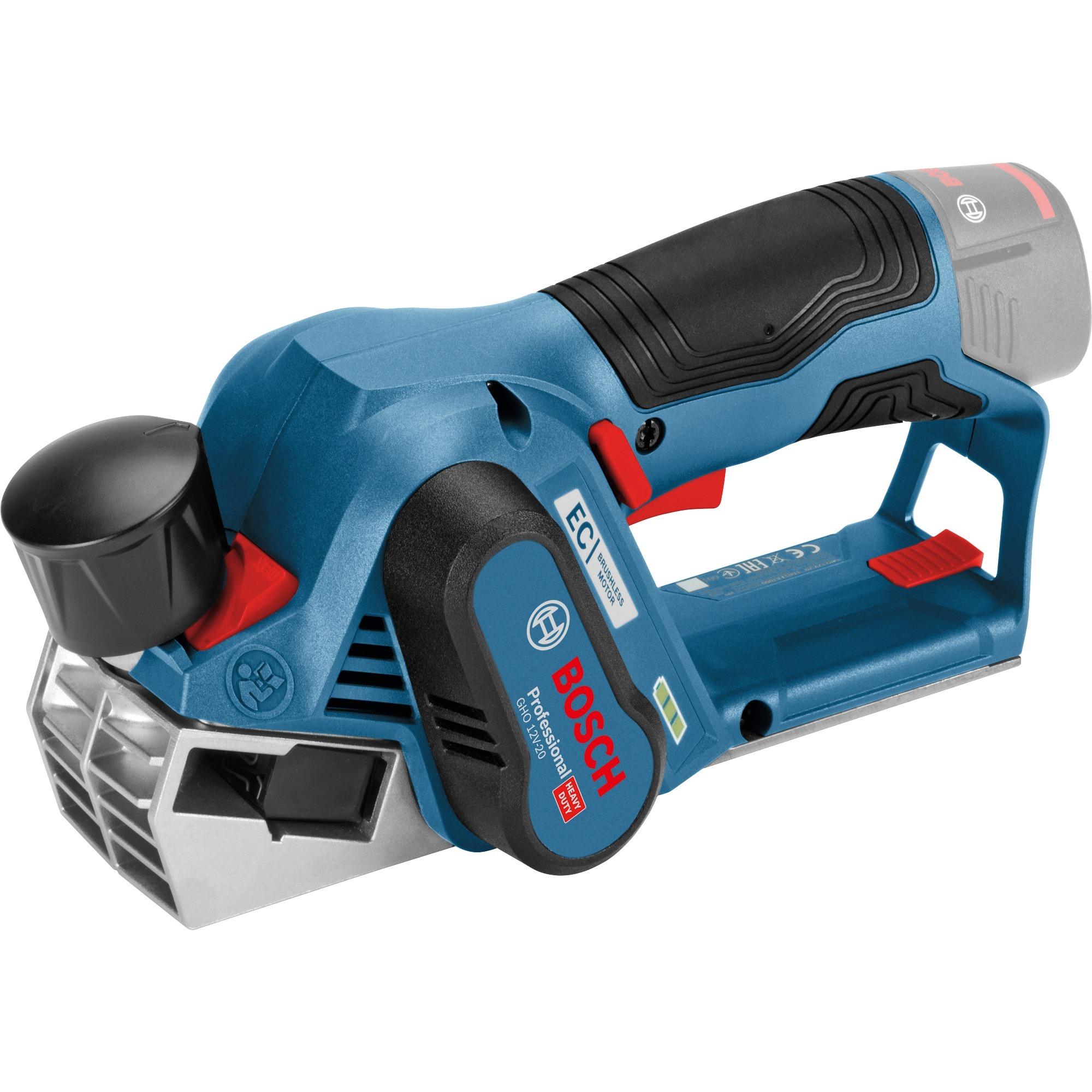 GHO 12V-20 Professional cepilladora eléctrica 14500 RPM Negro, Azul, Rojo, Cepillo eléctrico