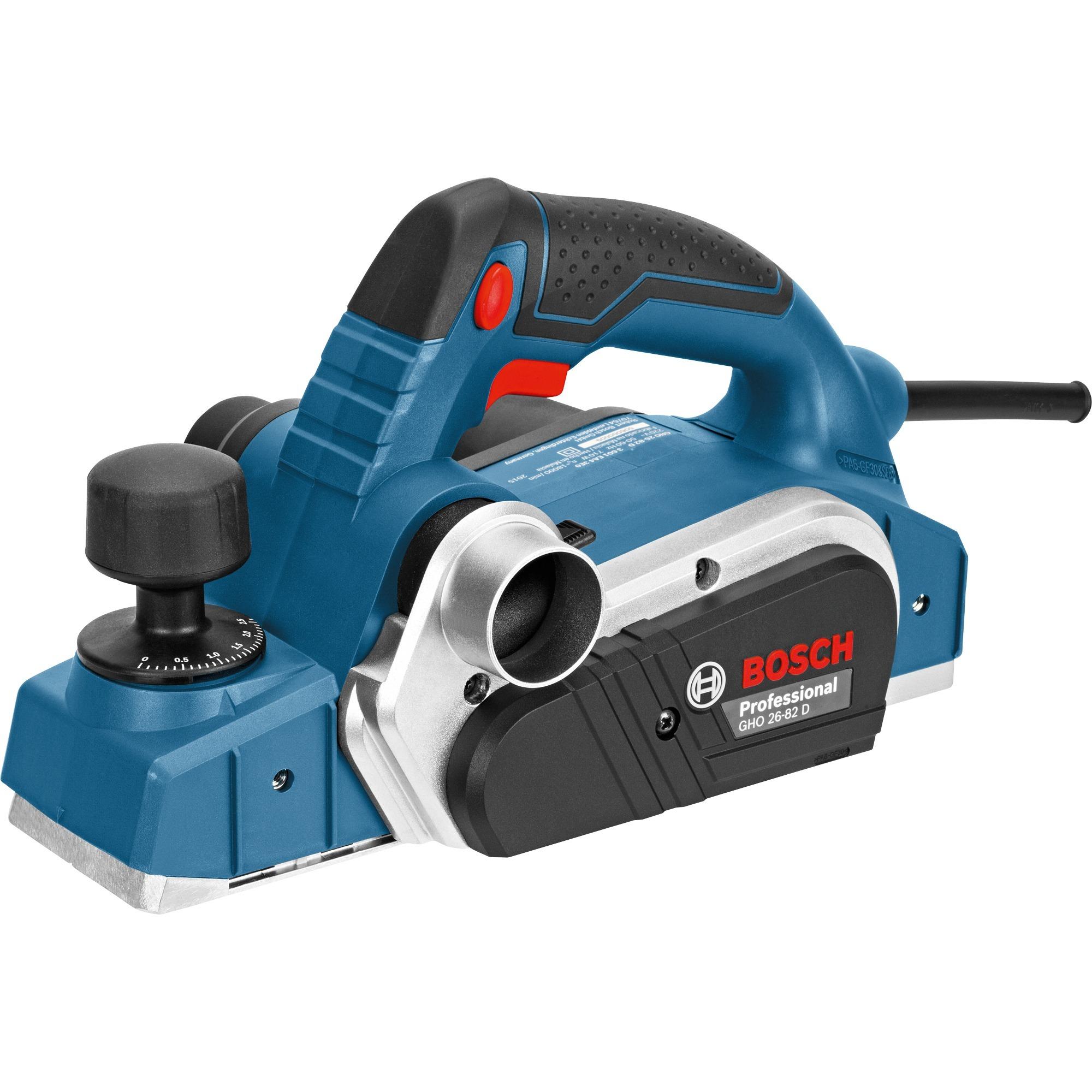 GHO 26-82 D Professional cepilladora eléctrica 710 W 18000 RPM Negro, Azul, Plata, Cepillo eléctrico