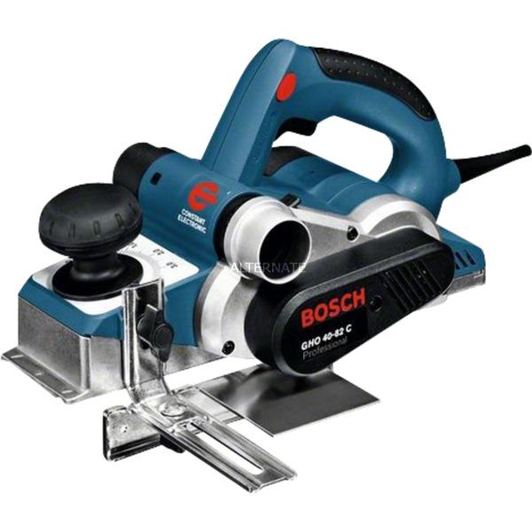 GHO 40-82 C Professional cepilladora eléctrica 850 W 14000 RPM Negro, Azul, Plata, Cepillo eléctrico