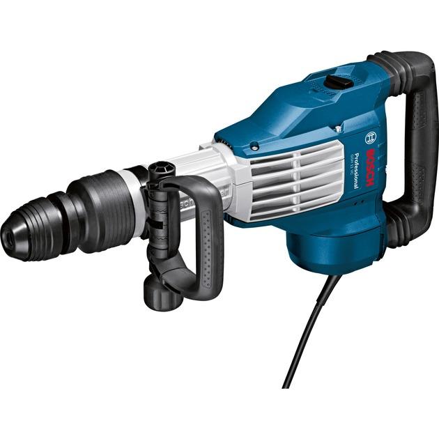 GSH11VC triturador de hormigón 1700 W 1700 ppm Negro, Azul, Acero inoxidable, Martillo de percusión