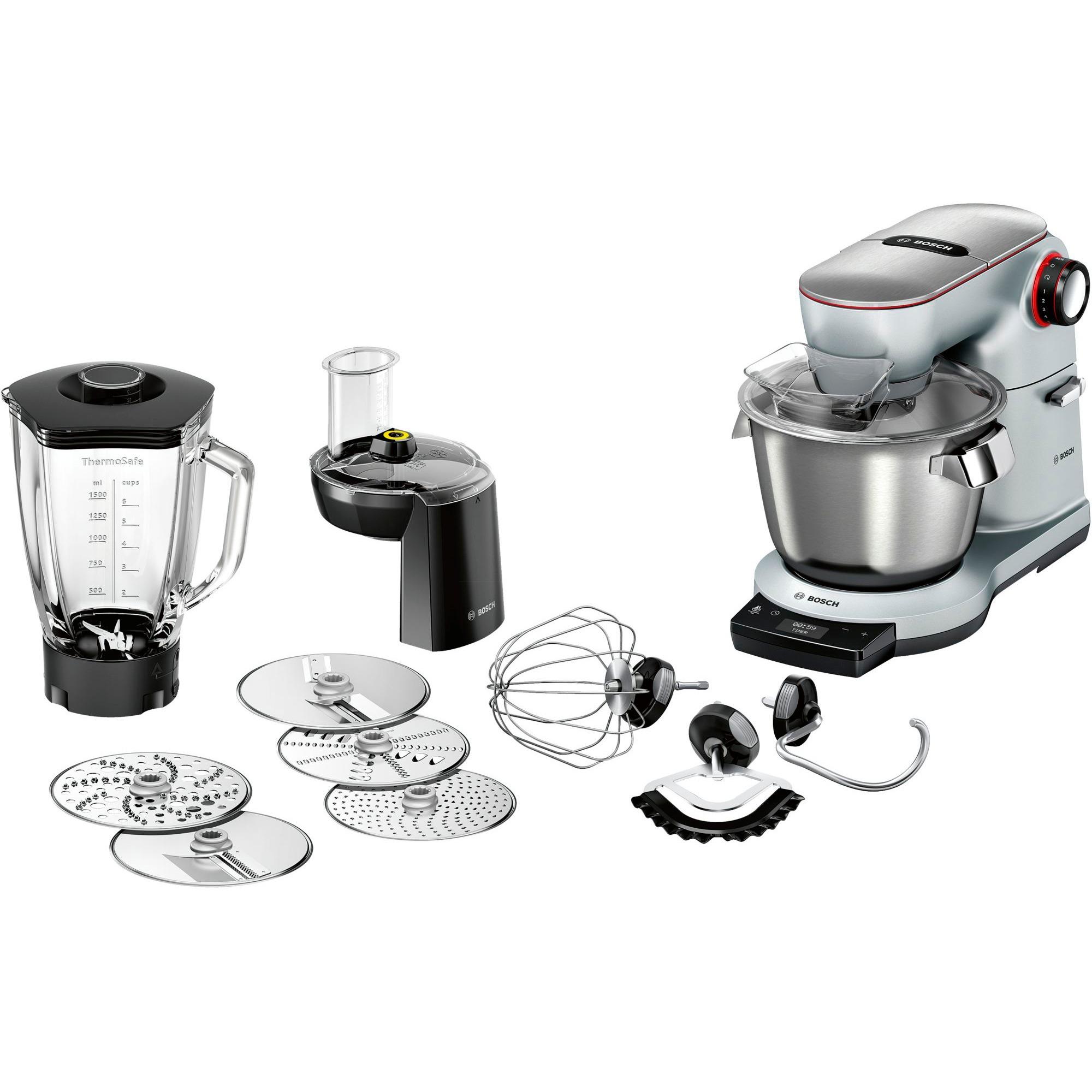 MUM9DT5S41 1500W 5.5L Plata robot de cocina