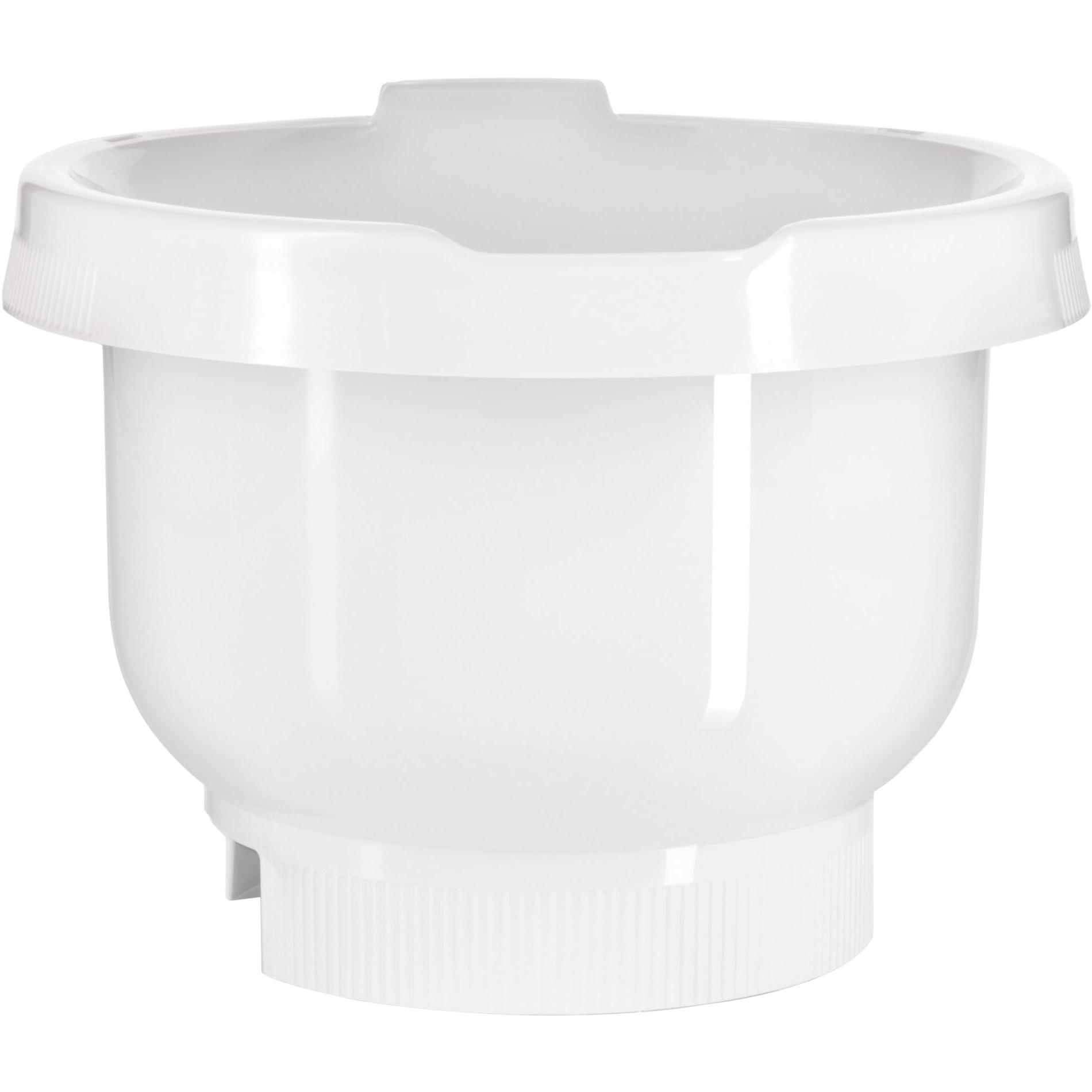 MUZ4KR3 recipiente de almacenar comida Alrededor Blanco, Bol para mezclar