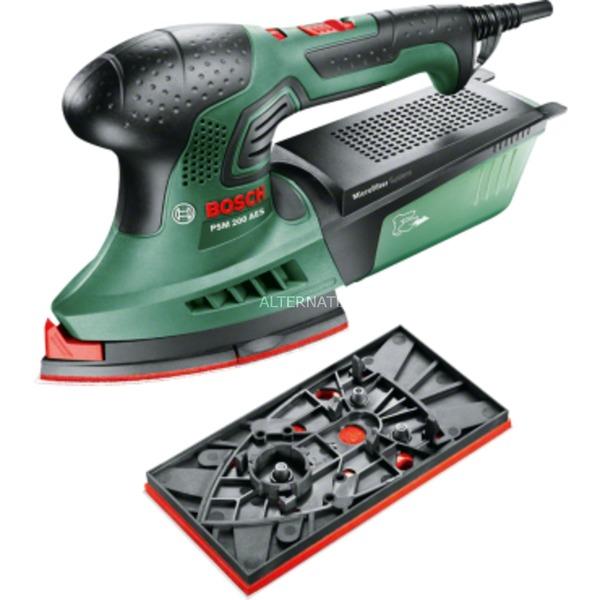PSM 200 AES Multilijadora Negro, Verde, Rojo 200 W, Lijadora múltiple