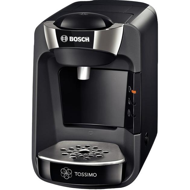 TAS3202 Independiente Semi-automática Máquina de café en cápsulas 0.8L Negro cafetera eléctrica, Cafetera de cápsulas