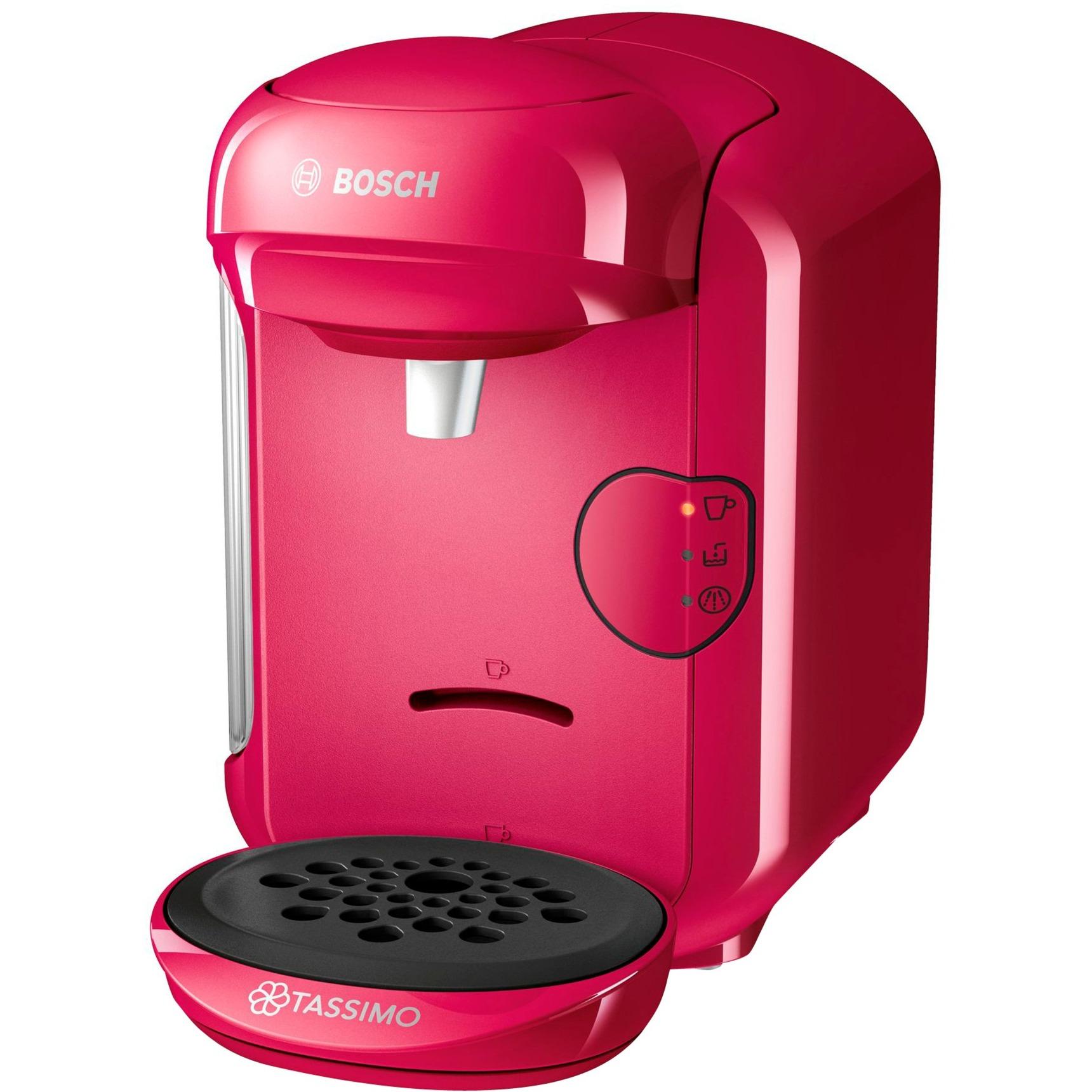 TASSIMO VIVY 2 Independiente Totalmente automática Cafetera combinada 0.7L Rosa, Cafetera de cápsulas