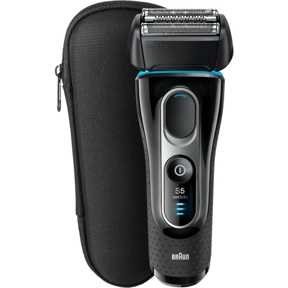 5145SWD depiladora para la barba Mojado y seco Negro, Máquina de afeitar