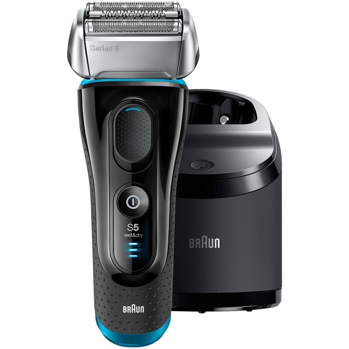 5190CCWD depiladora para la barba Mojado y seco Negro, Máquina de afeitar