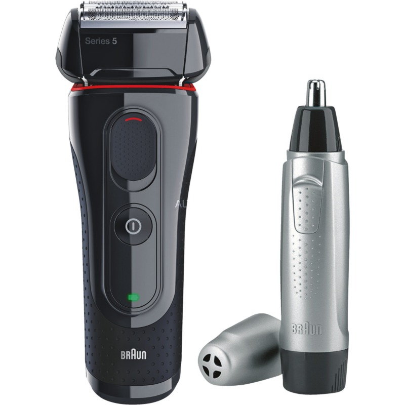 5-5030S Máquina de afeitar de láminas Recortadora Negro, Rojo