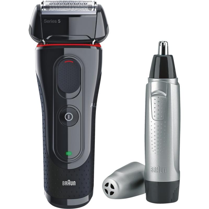 5-5030S afeitadora Máquina de afeitar de láminas Recortadora Negro, Rojo