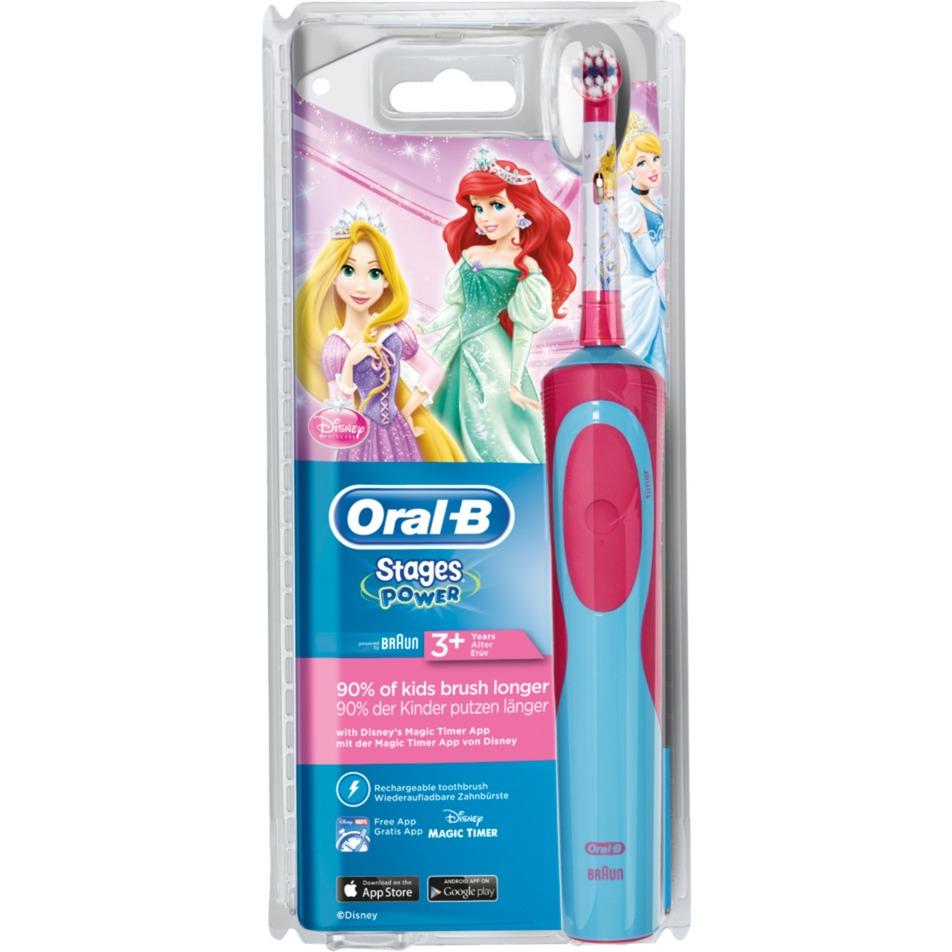 80268190 Niño Cepillo dental oscilante Azul, Rojo cepillo eléctrico para dientes, Cepillo de dientes eléctrico