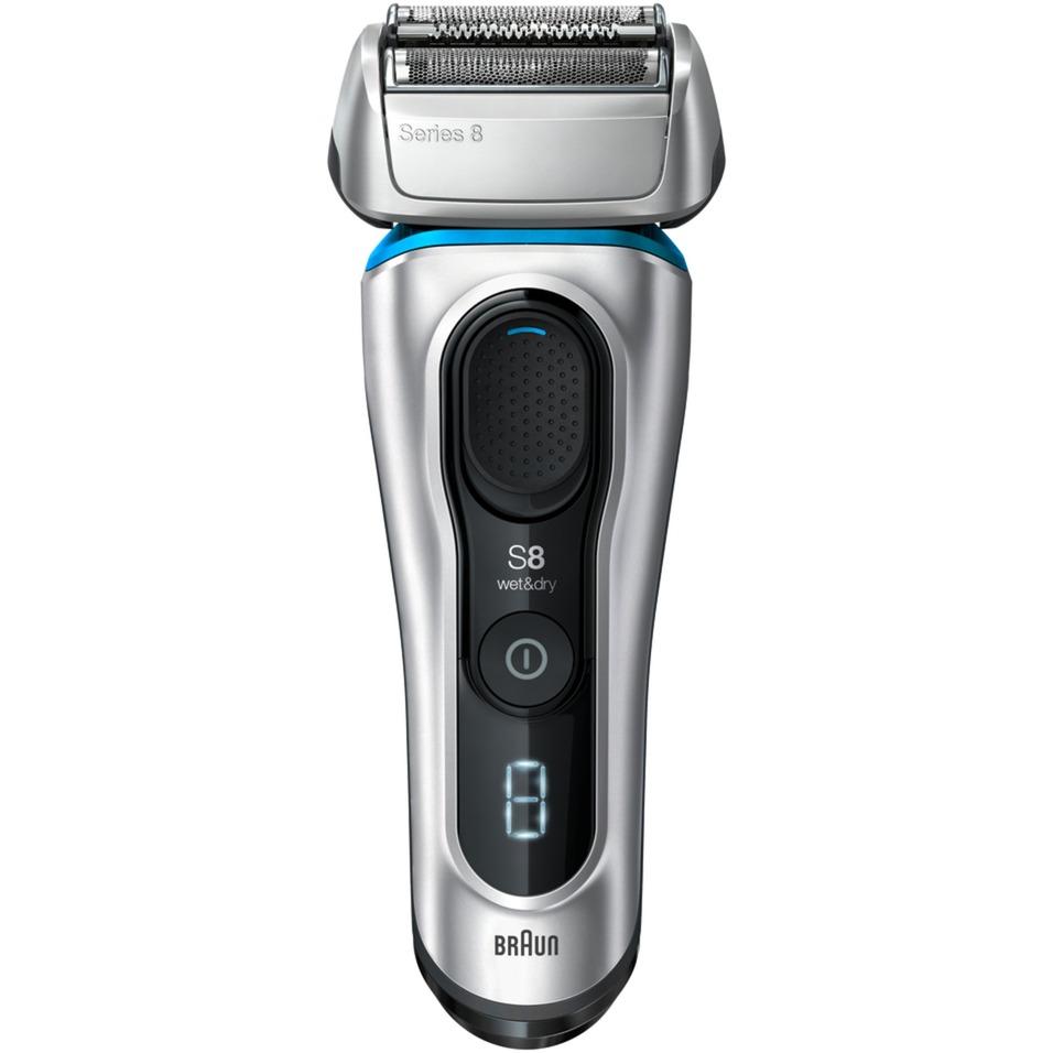 81662412 afeitadora Máquina de afeitar de láminas Recortadora Negro, Azul, Plata