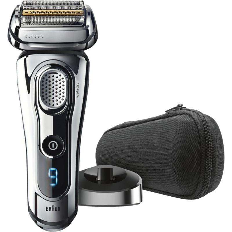 Braun 9293s afeitadora Máquina de afeitar de láminas Recortadora Cromo  cromado 4b0322656225