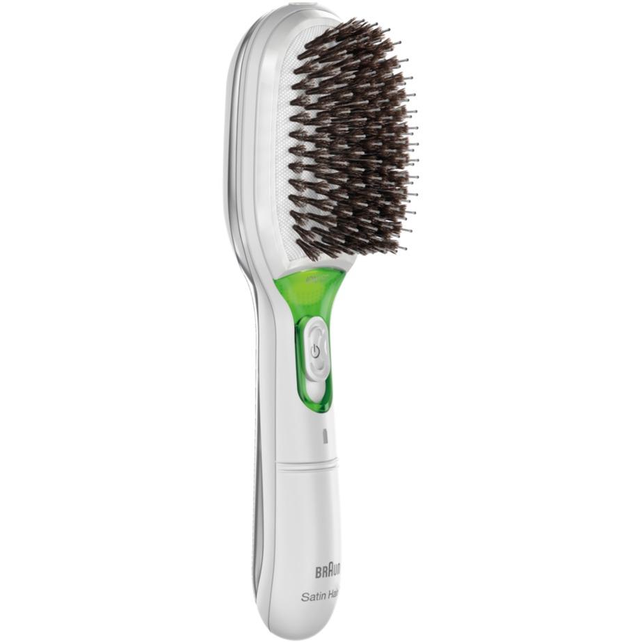 BR750 Cepillo paleta para el pelo Verde, Color blanco 1pieza(s)