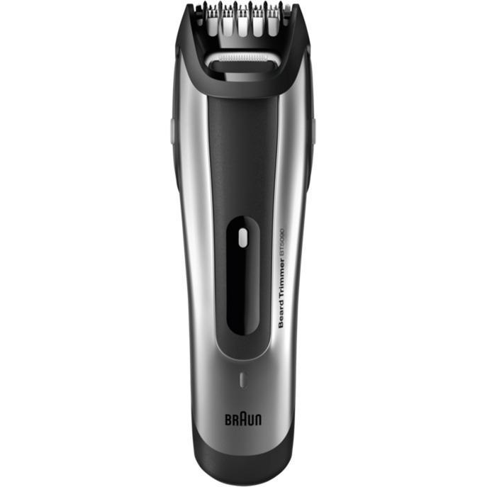 BT5090 Negro, Gris depiladora para la barba, Cortapelo para barba