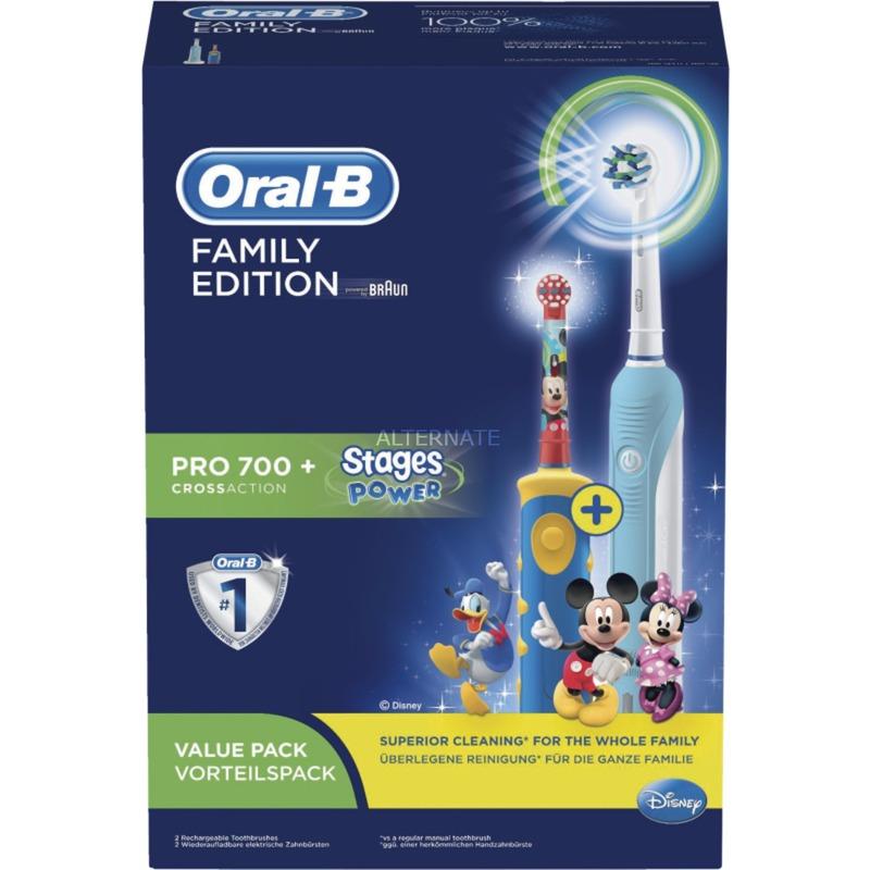 Familypack Multicolor, Cepillo de dientes eléctrico