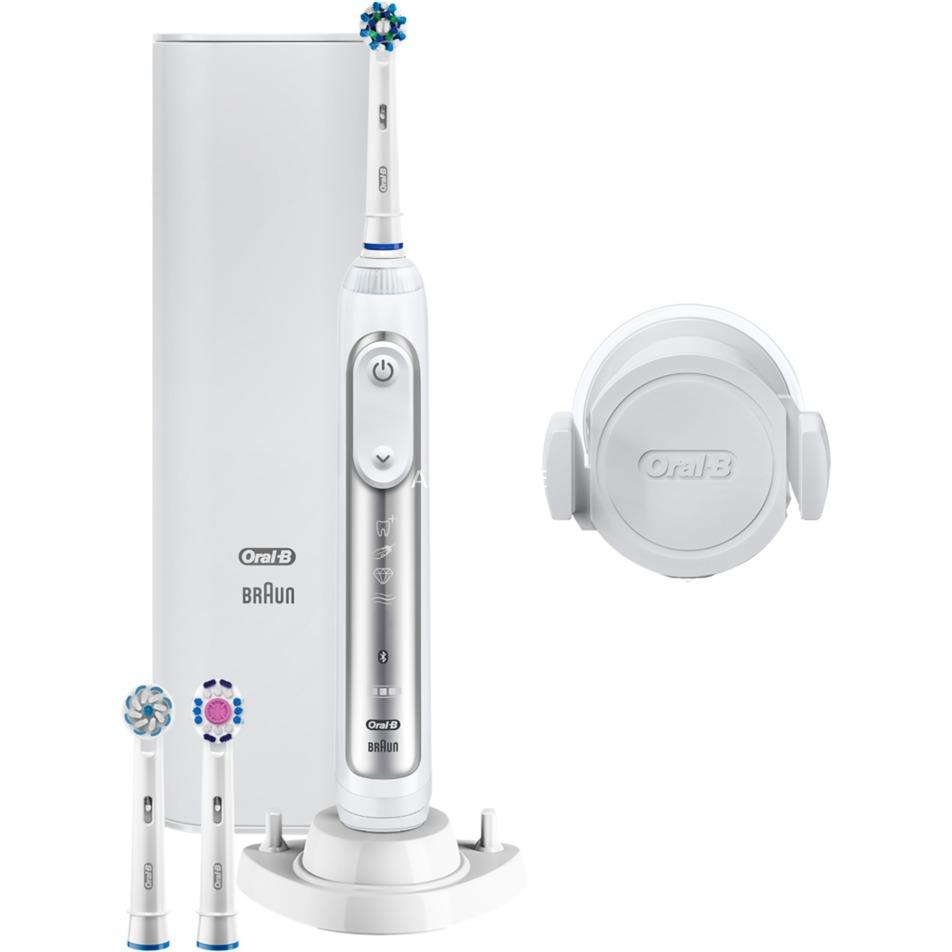 Genius 8100S Silver Adulto Plata, Cepillo de dientes eléctrico