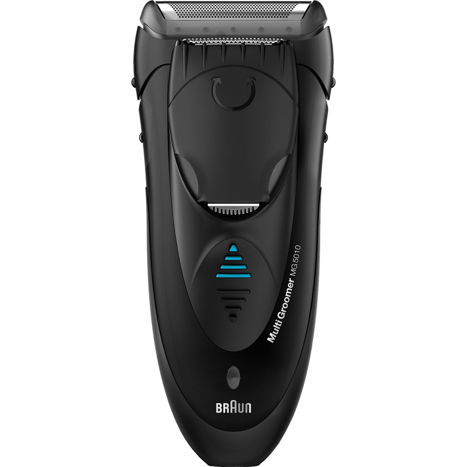MG5010 afeitadora Máquina de afeitar de láminas Recortadora Negro, Gris
