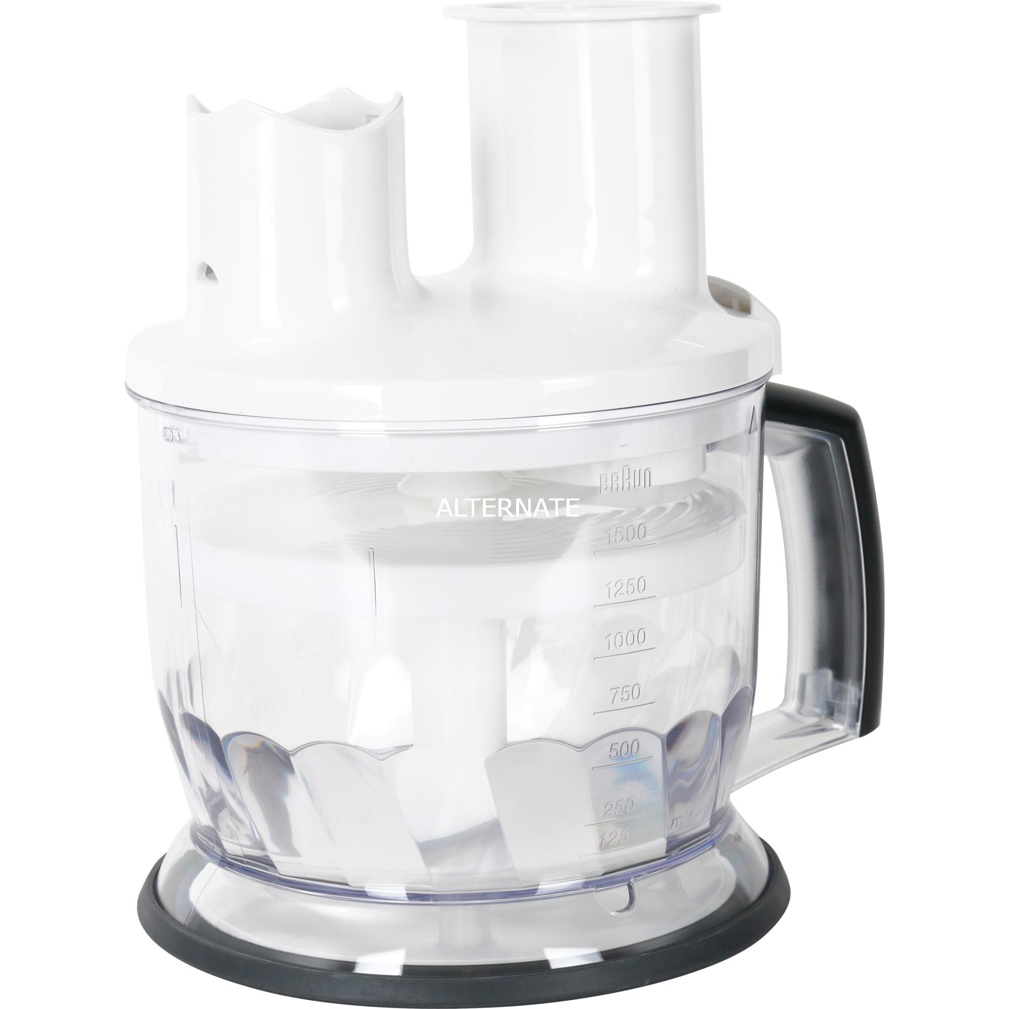 MQ 70 1.5L Blanco robot de cocina, Ensayo