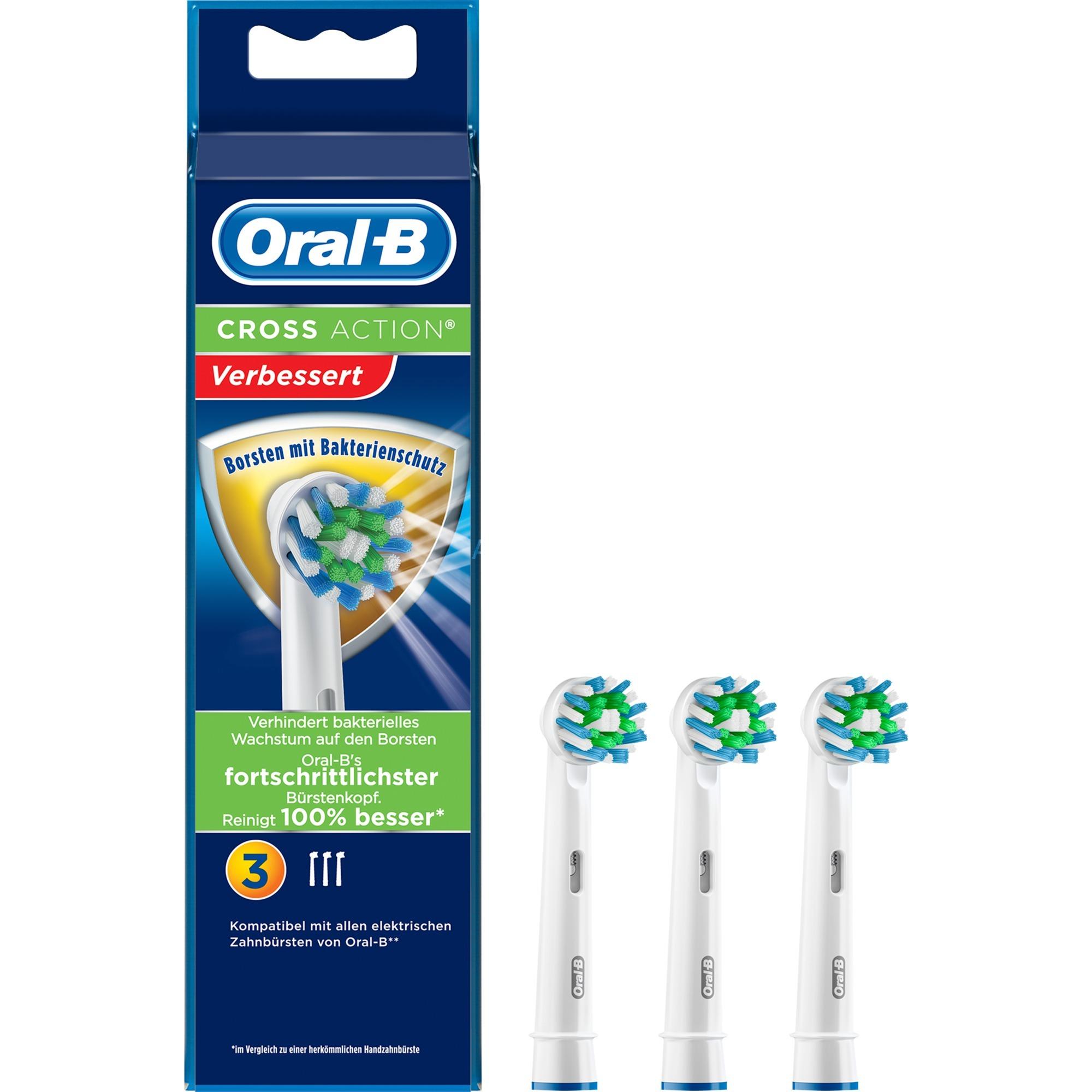Oral B CrossAction, Cabezal de cepillo
