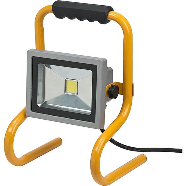 1171250223 LED 20W Aluminio, Negro, Amarillo luz de trabajo, Foco de obra