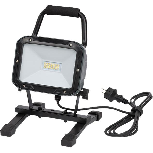 1173820 20W LED A Negro Proyector, Foco de obra