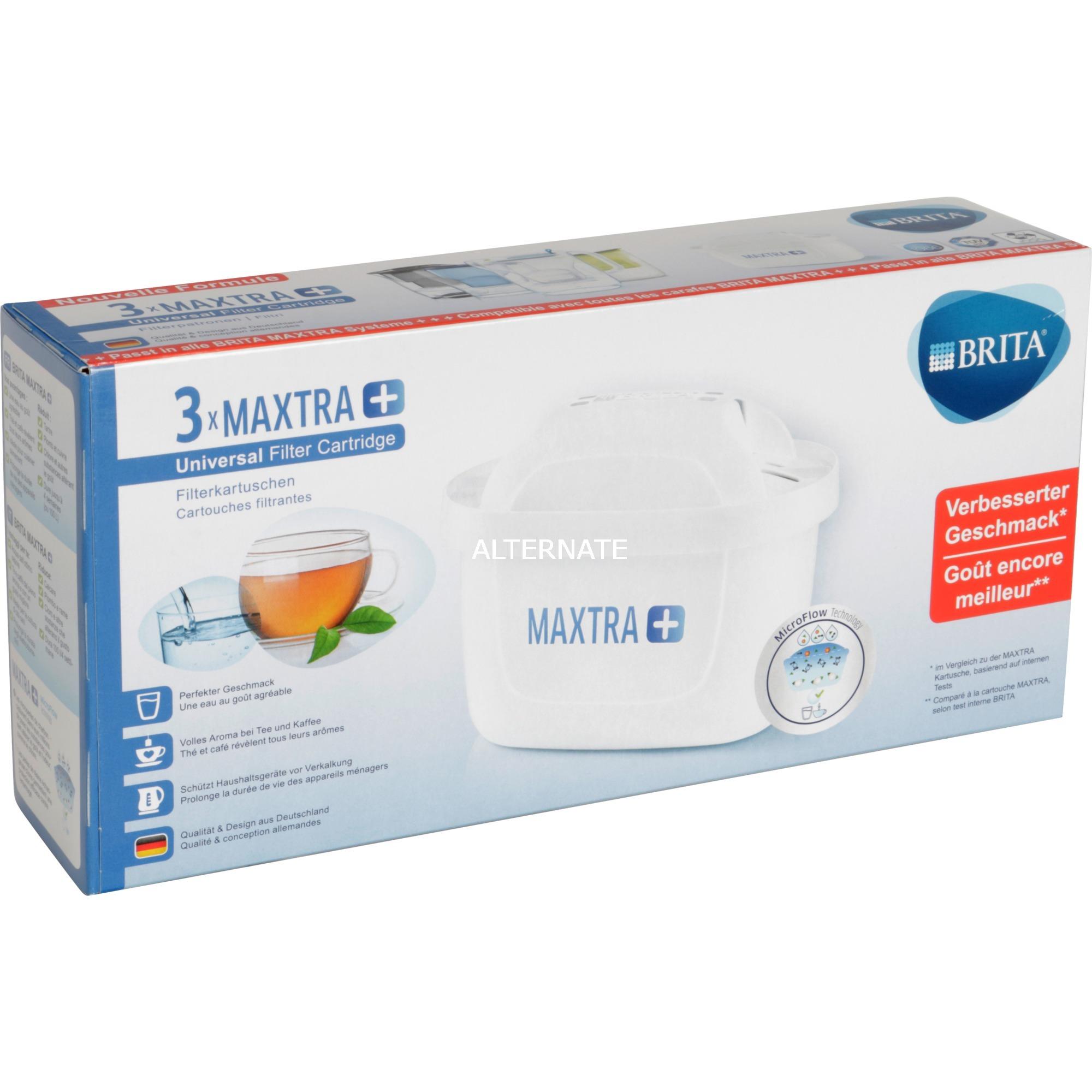 1023120 Cartucho 3pieza(s) suministro de filtro de agua, Filtro para agua potable