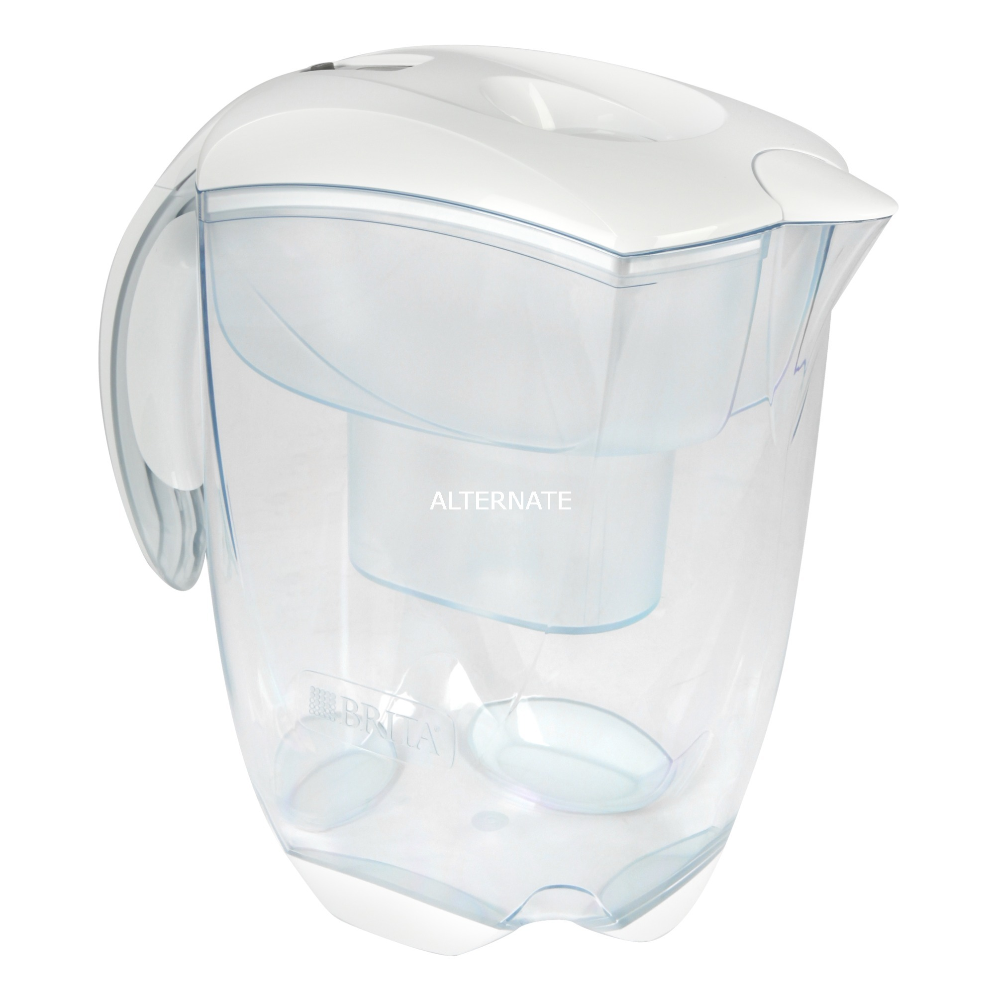 Elemaris Filtro de agua para jarra 2.4L Transparente, Color blanco