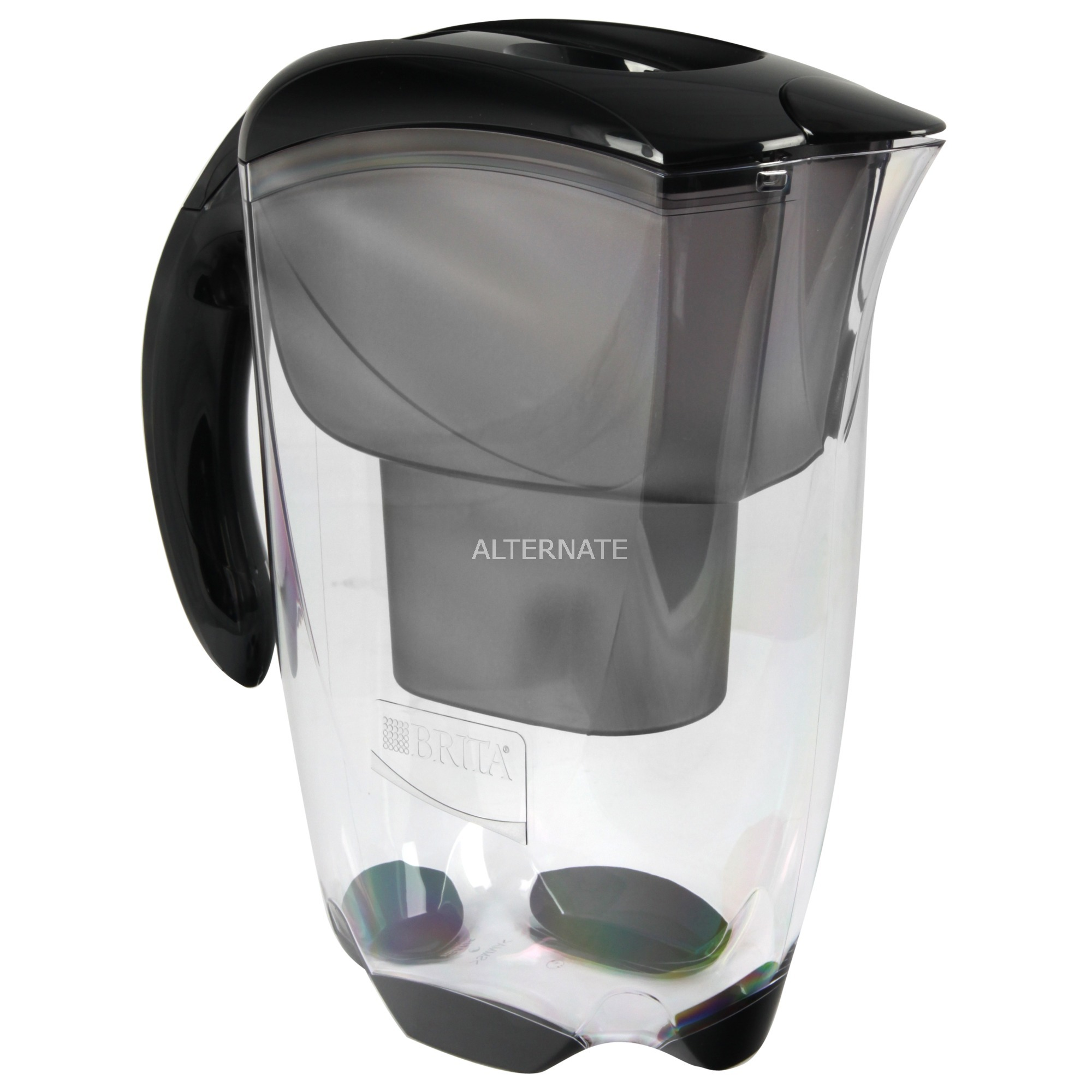 Elemaris Filtro de agua para jarra Negro, Transparente 2,4 L