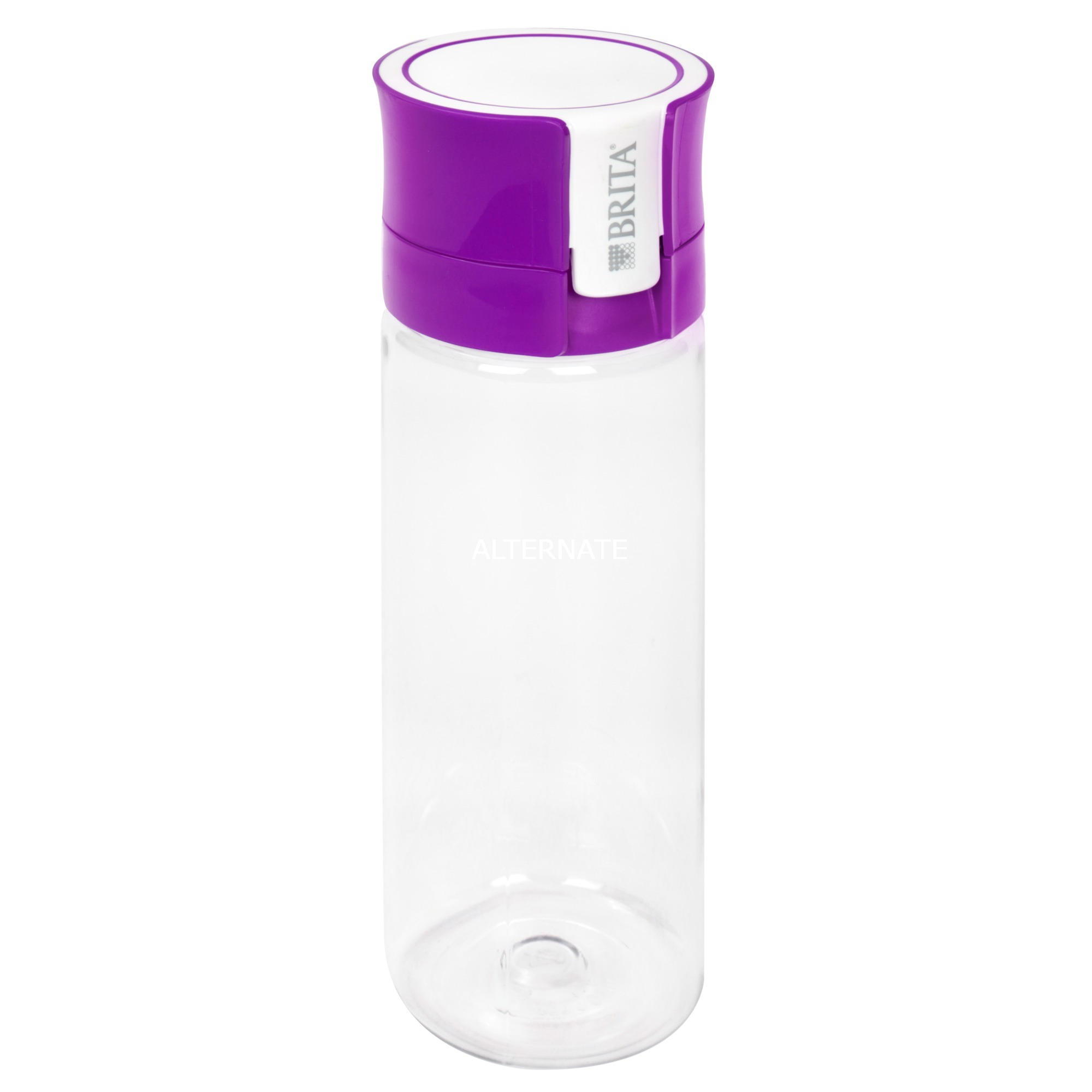 Fill&Go Bottle Filtr Purple Botella con filtro de agua Púrpura, Transparente