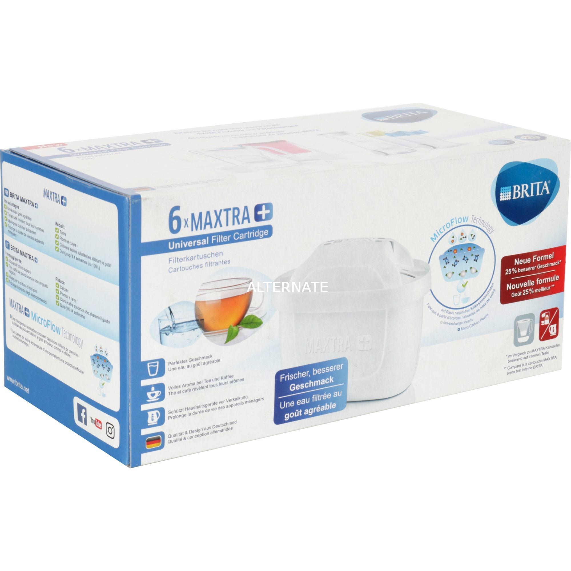 Filtros MAXTRA+ Pack 6, Filtro de agua