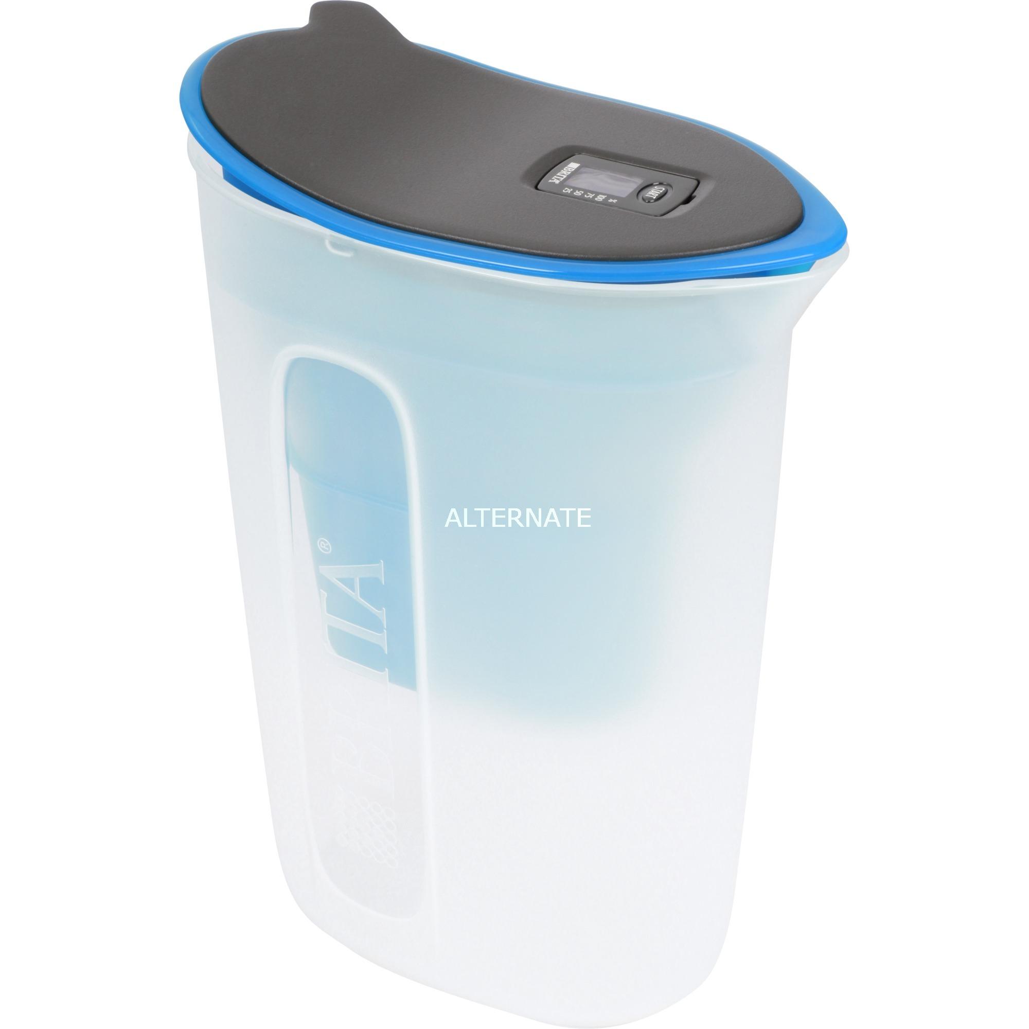 Fun Filtro de agua para jarra 0.5L Negro, Azul, Transparente
