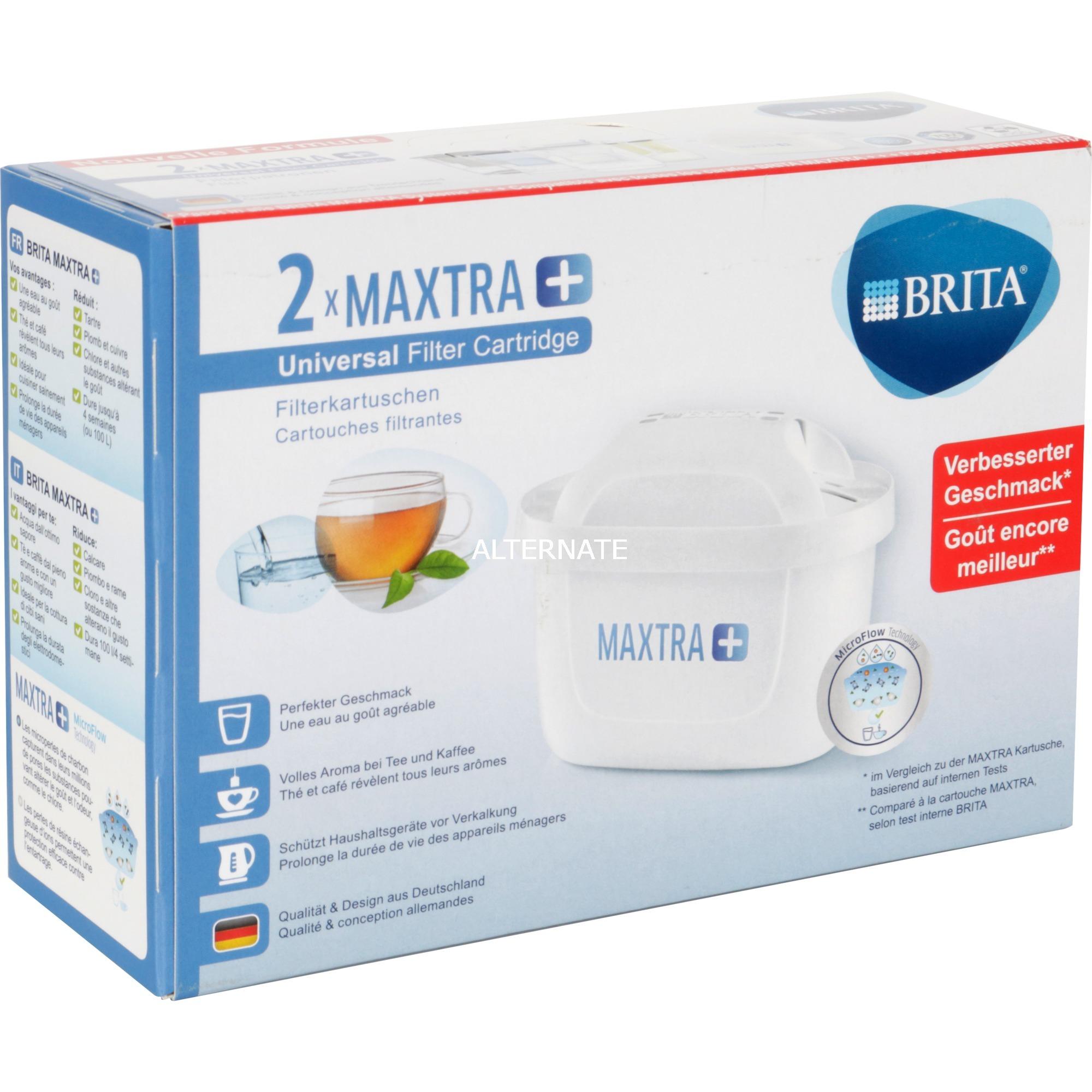 MAXTRA+ 2-Pack Cartucho 2pieza(s), Filtro de agua