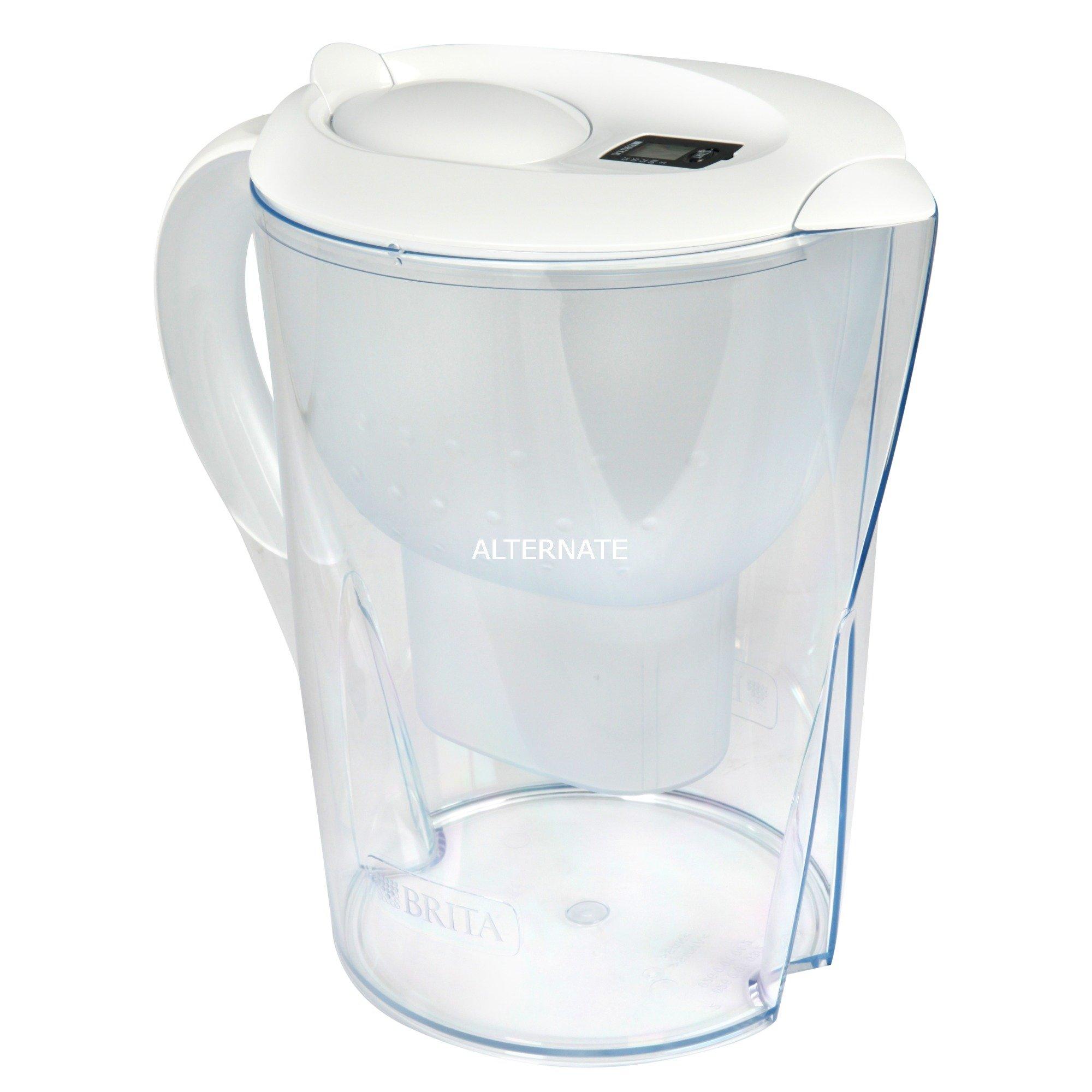 Marella Filtro de agua para jarra Transparente, Blanco 2,4 L