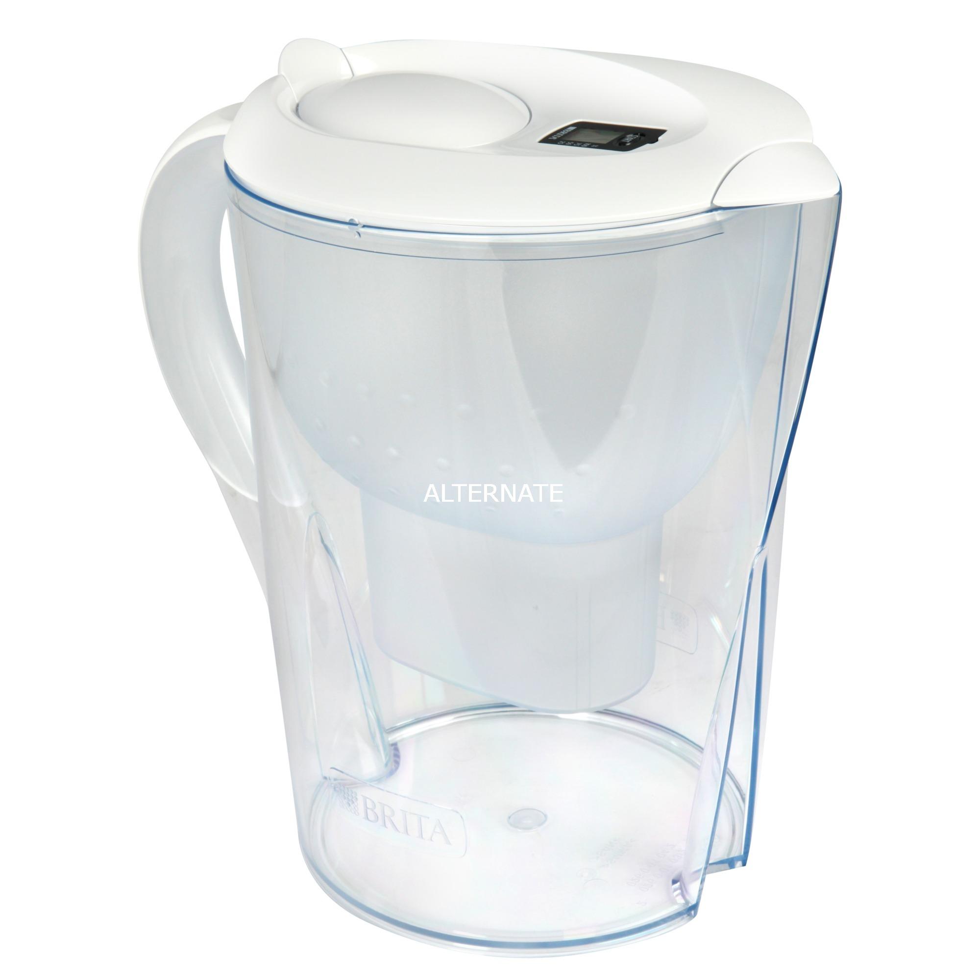 Marella XL Filtro de agua para jarra Transparente, Blanco 3,5 L