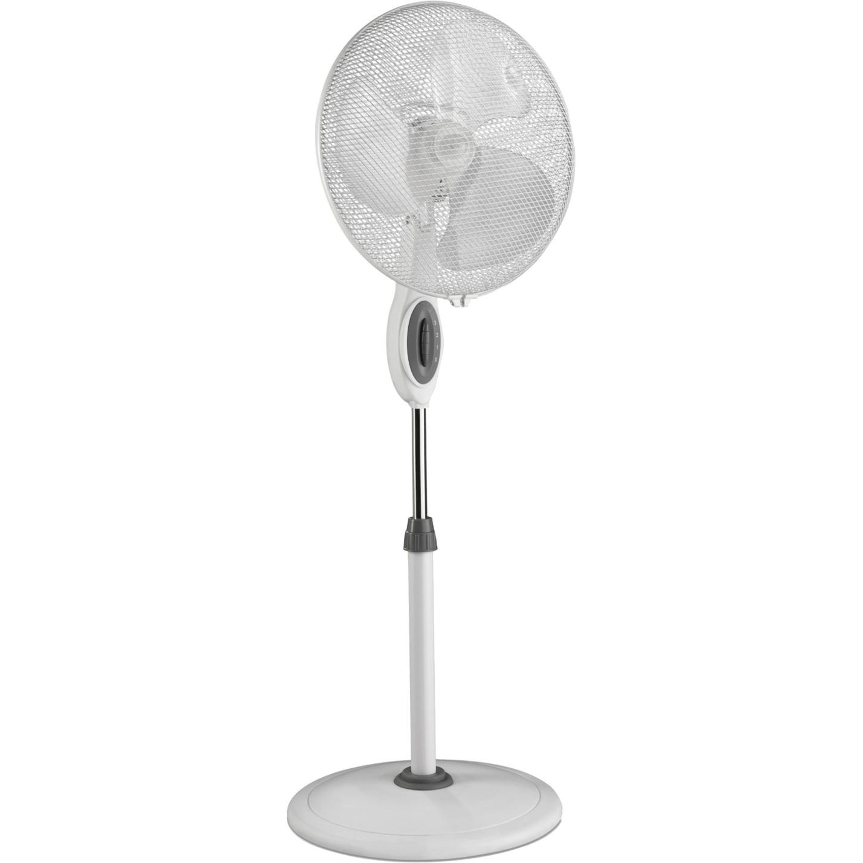 306130 Ventilador con aspas para el hogar 50W Blanco ventilador