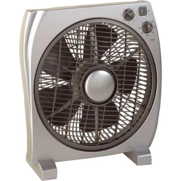 67533 Ventilador con aspas para el hogar Plata